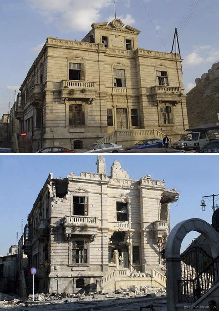 30 Before & After Pics Of Aleppo Reveal What War Did To Syria's Largest City
