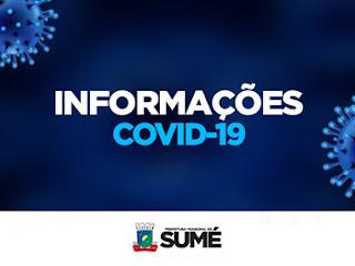 Saúde de Sumé registra 12 casos de COVID recuperados nesta terça-feira, 20