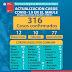 Seremi de Salud del Maule confirma 316 casos de Covid-19 en la región