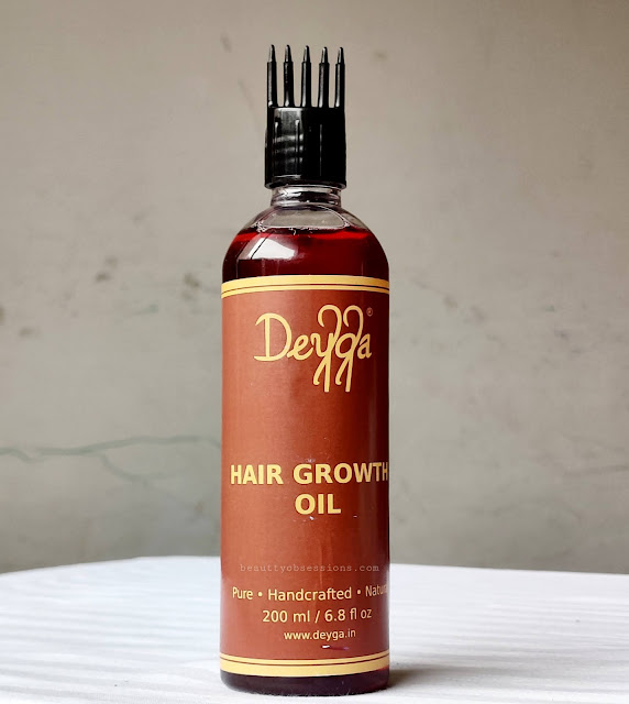 Hair growth Hair oil from brand Deyga