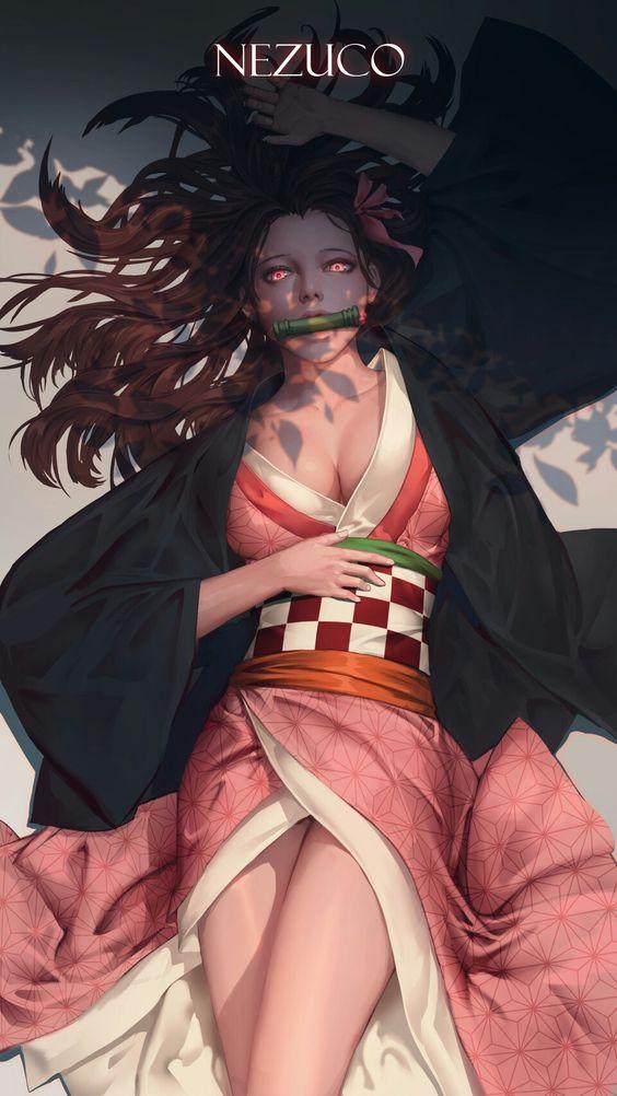 Nezuko Fan Art - Kimetsu No Yaiba - BlogFanArt