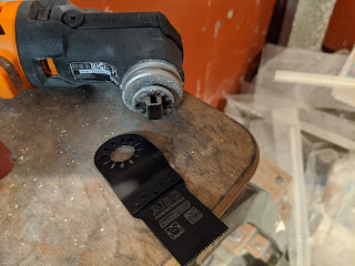 Werkzeugaufnahme AEG OMNI verriegelt