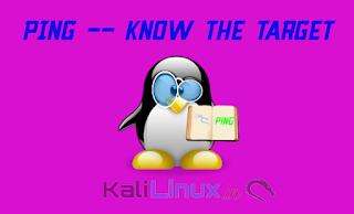 ping on Kali Linux
