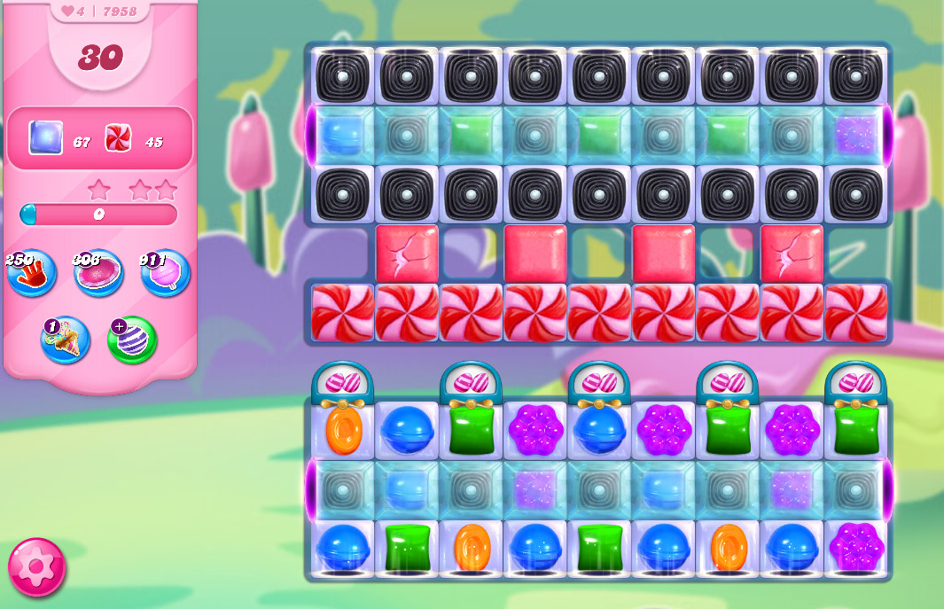 Candy Crush Saga level 7988