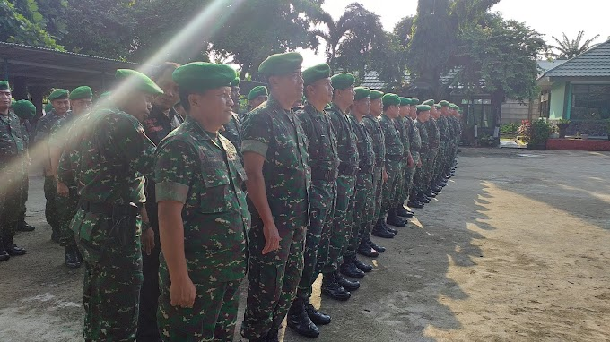 Pengamanan Natal dan Tahun Baru 2020, Kodim Depok Terjunkan 250 Personil