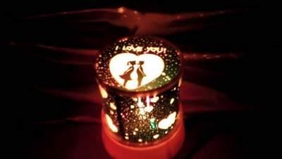 Lampu Proyektor Unik Romantic Master Star Love
