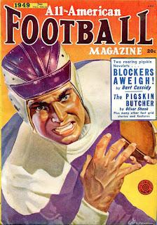 All American Football Magazine - 2nd. Fall 1949