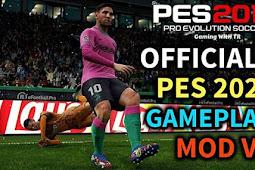 Official PES 2021 Gameplay Mod V3 For - PES 2019