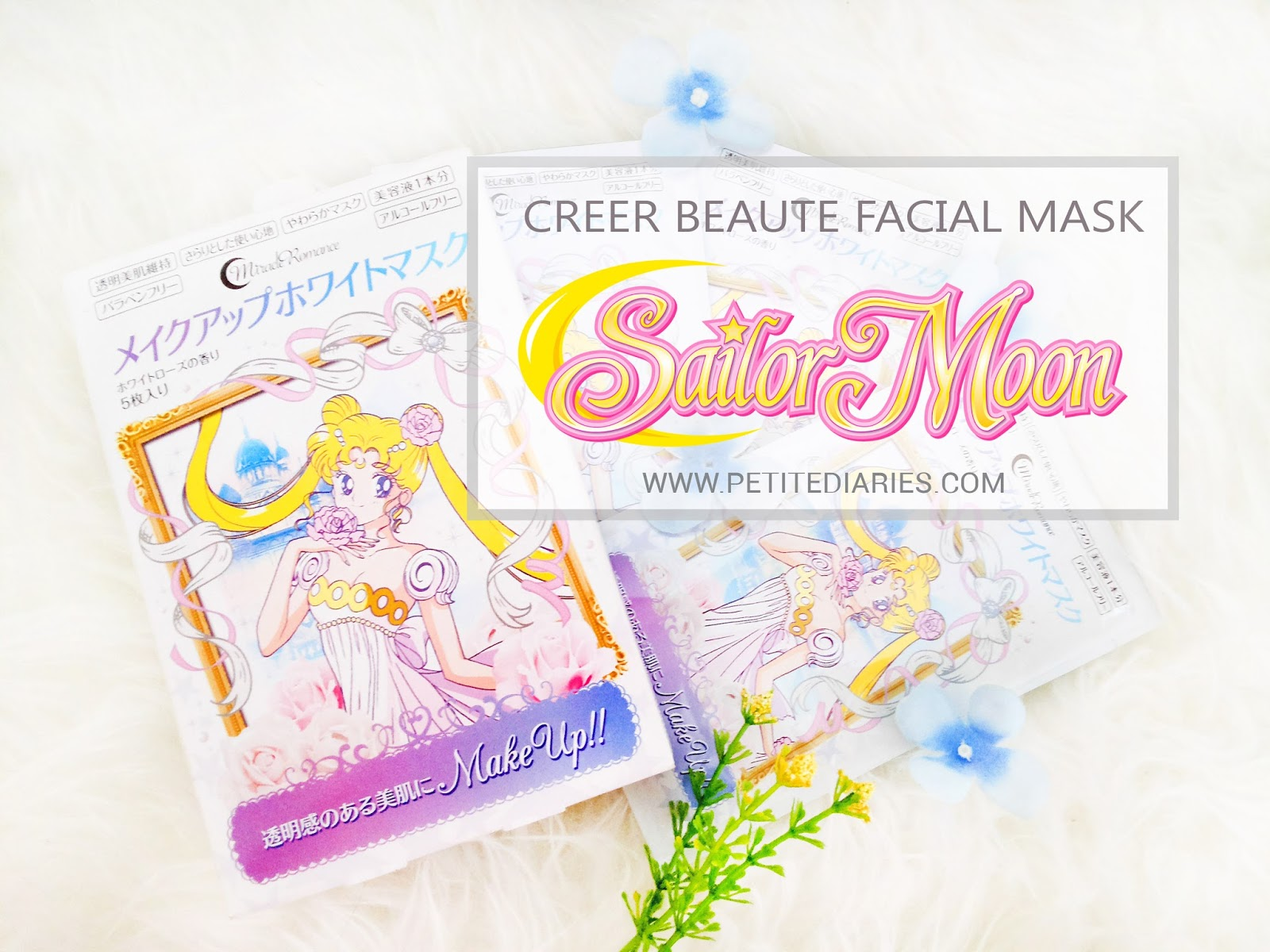 sailormoon creer beaute review face mask white princess serenity