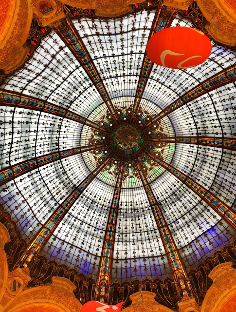 Galeries Lafayette - Paris, France
