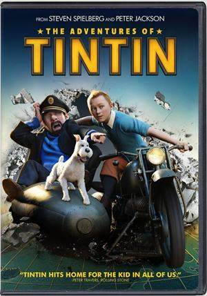 The Adventures of Tintin Secret of the Unicorn DVDR NTSC Español Latino ISO 2011