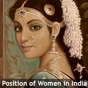 position of women in India