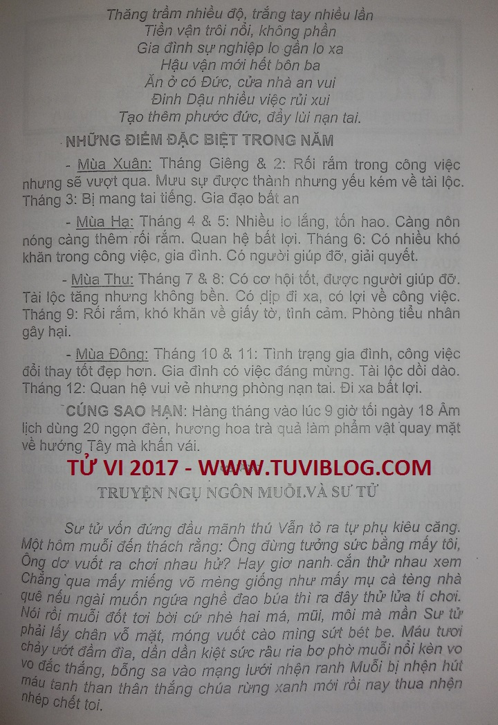 TU VI TUOI BINH NGO NAM 2017