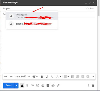 Cara Membuat Group List Email di Gmail 4