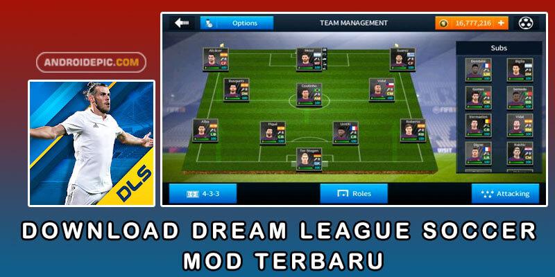 Download Dream League Soccer Mod Terbaru