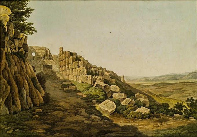 Φωτογραφικό Ταξίδι : Οι Μυκήνες πριν δυο αιώνες.