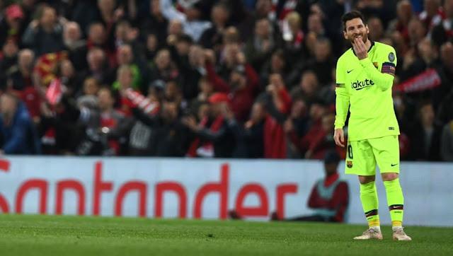 Le bus du Barça oublie Lionel Messi à Anfield !