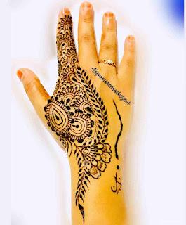 Mehandi Design Simple Arabic