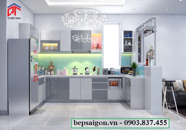 tu bep, tủ bếp đẹp, tủ bếp hiện đại, tủ bếp xinh