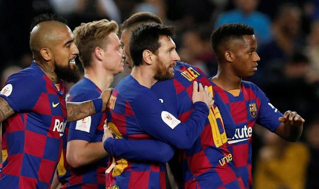 برشلونة Vs ليفانتي : برشلونة ضد ليفانتي 2020/2/2