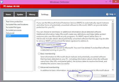 mematikan Auto UpdateWindows Defender