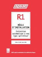 Règle R1 de l'APSAD