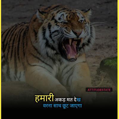 High Attitude Status in Hindi - 1 Top Quotes & Status