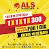 Oferta de ALS Y EL MAESTRO 1X1X1X300
