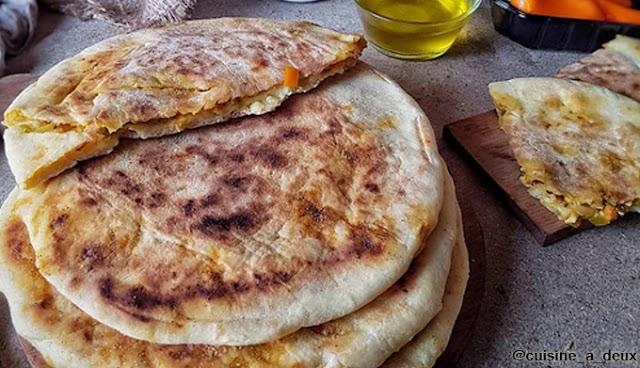 خبز محشي (كسرة محشية) - المطبخ التونسي