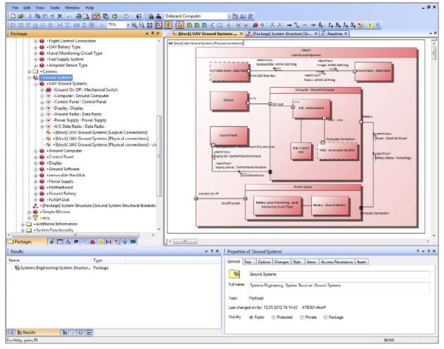 Commercial and freeopen source sysml modeling tools sysml users in thailand ccuart Choice Image