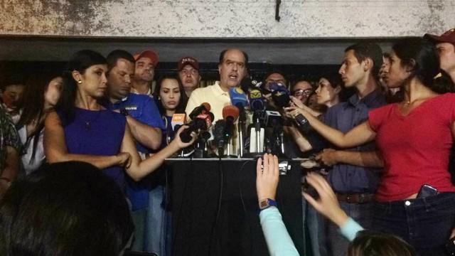 """Borges llama a """"la rebelión del pueblo"""" ante Constituyente anunciada por Maduro"""
