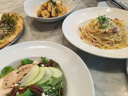 Sophia Eats: TRATTORIA ITALIAN KITCHEN: CALAMARI ON POINT!