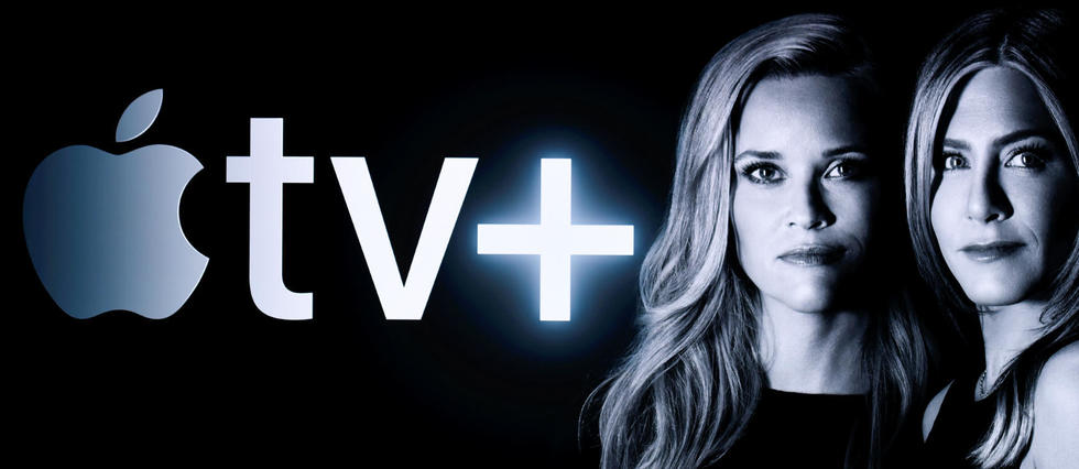 Reese Witherspoon y Jennifer Aniston en una imagen promocional de Apple TV+