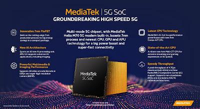 Infografis Chipset 5G MediaTek