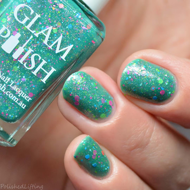 green jelly nail polish
