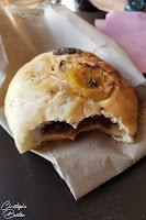 Pan de chocolate y plátano, pain au chocolat et bananes, panaderia La Baguette, Mazunte, Oaxaca, Mexique, Mexico