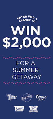 MillerCoors wants you to totally get all of the cool vibes of summer so they're giving away $2000 towards your summer getaway!