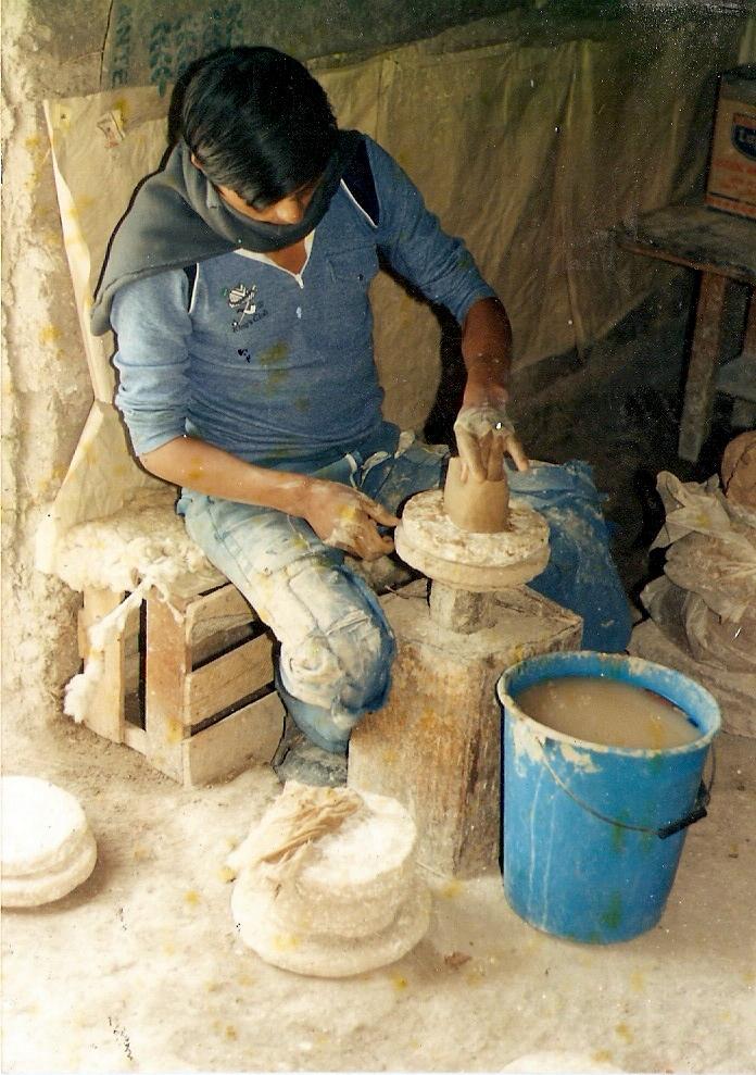 Historia de la cer mica de quinua gedion fernandez for Origen de la ceramica