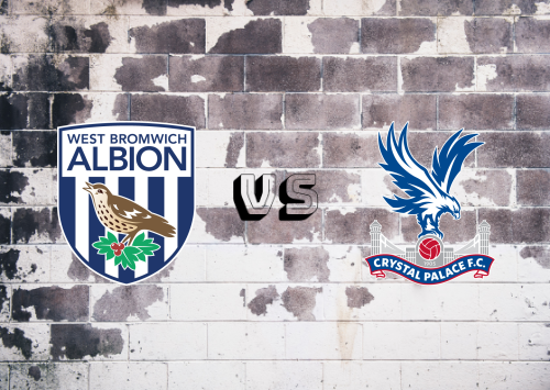West Bromwich Albion vs Crystal Palace  Resumen