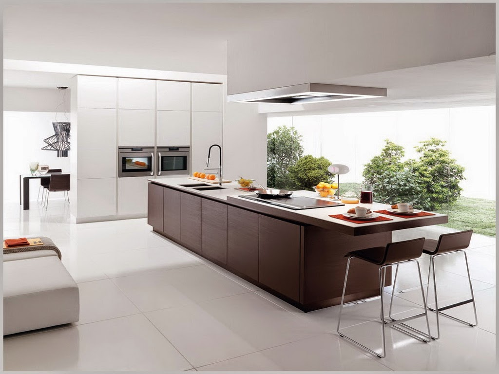 64 Desain Rumah Minimalis Dapur Di Depan  Desain Rumah