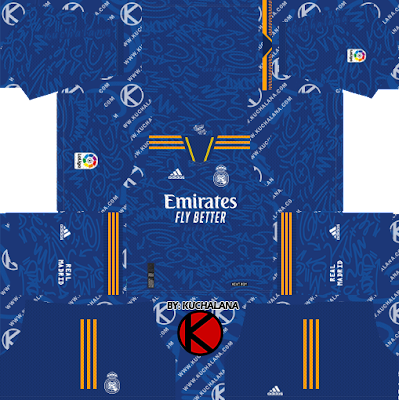 Real Madrid 2021/22 Kit - DLS2019