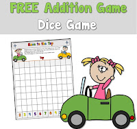 Free Addition Game using Two Dice