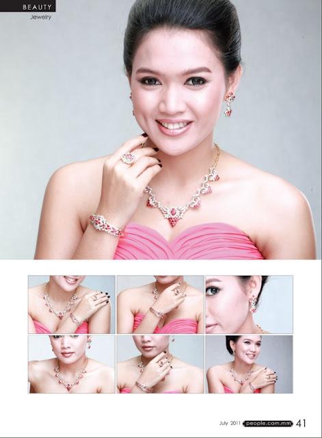 Myanmar Model Girl - Aye Myat Thu