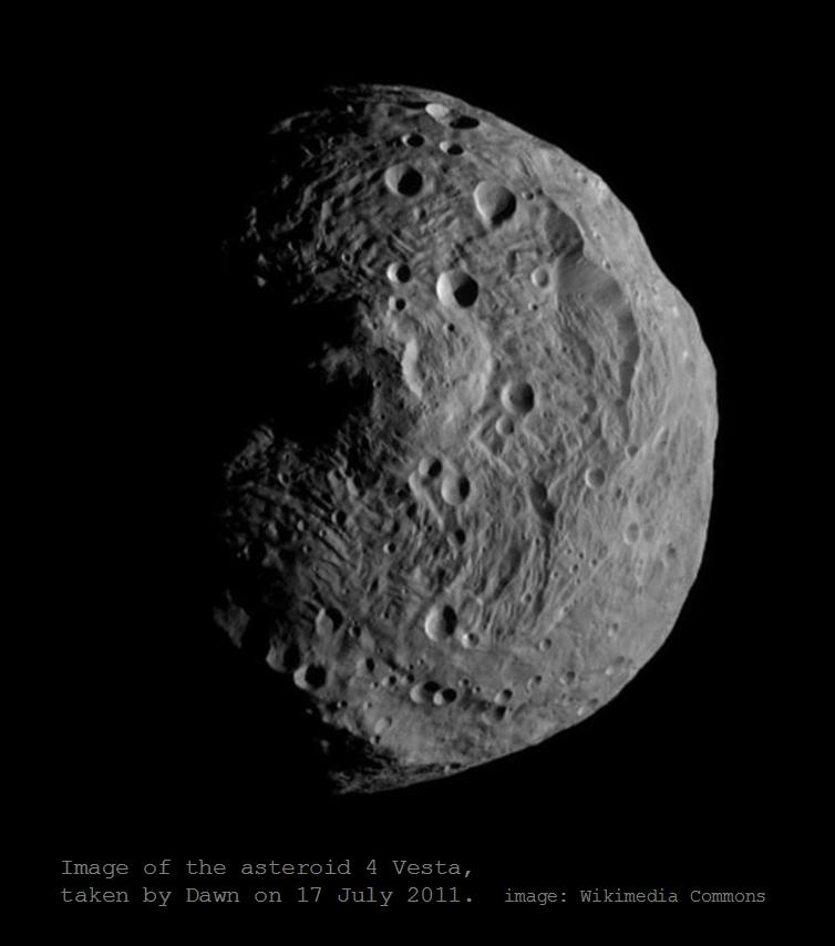 The Mathisen Corollary: What about Vesta and the asteroid ...