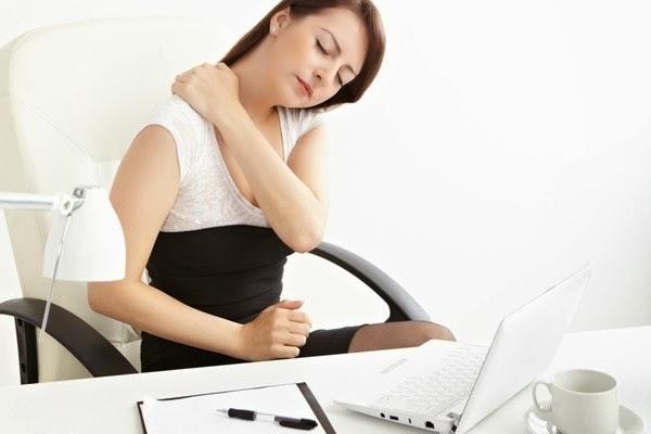 efectos de estar sentado