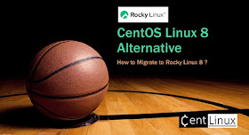 Migrate CentOS 8 Operating System to Rocky Linux