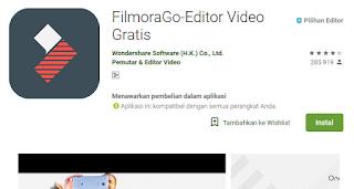 FilmoraGo-Editor Video Gratis