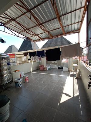 Lantai Atas RUMAH MURAH SEMI FURNISHED DEKAT PINTU TOL H. HANIF - 2,5 Lantai - sekitar Jalan Pancing Medan - Komplek Budi Utomo Mediterania