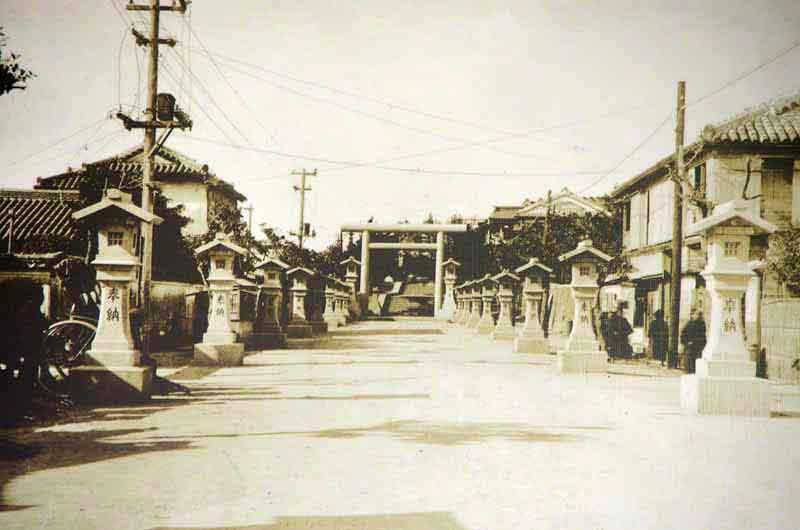 Ryukyu Life Then And Now Photos Naminoue Shrine 波上宮