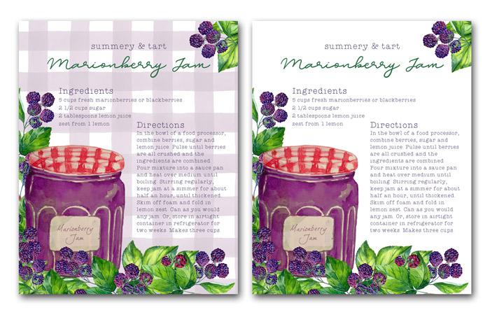 Marionberry Jam Recipe